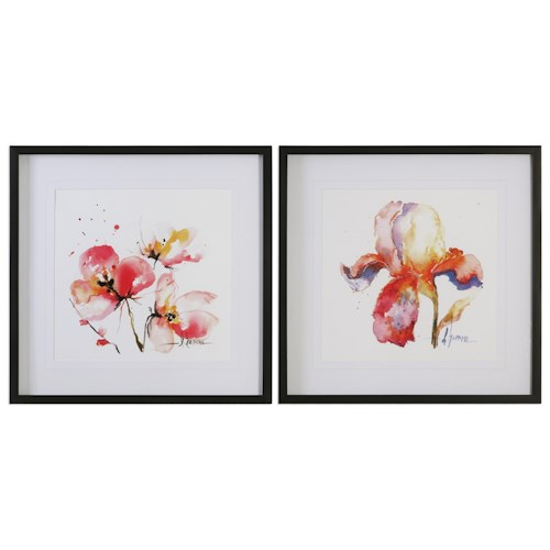 Uttermost Art Blooms Hermanas (Set of 2)