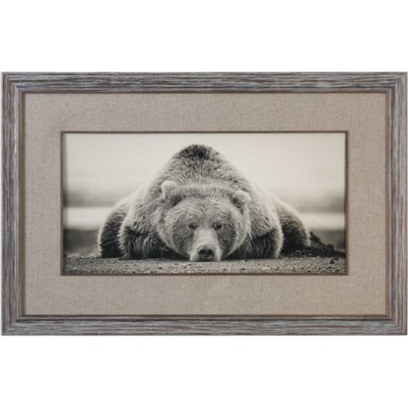 Deep Sleep Bear Print