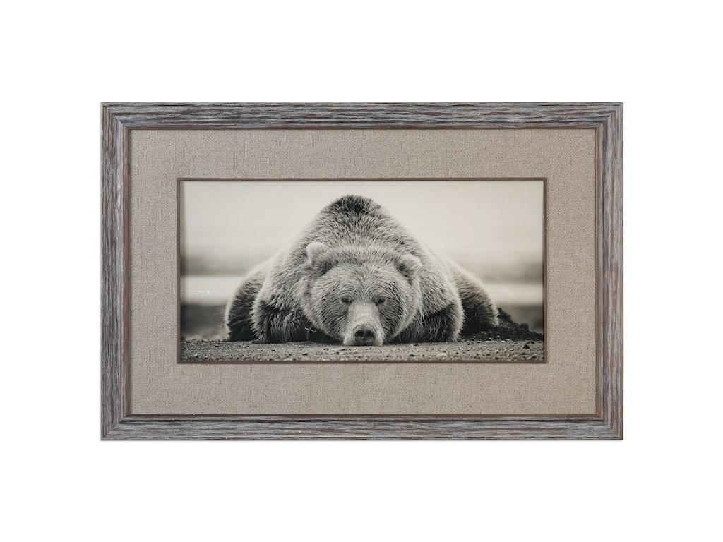 Uttermost ArtDeep Sleep Bear Print