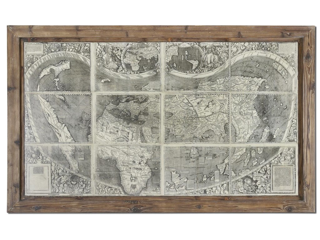 Uttermost ArtTreasure Map