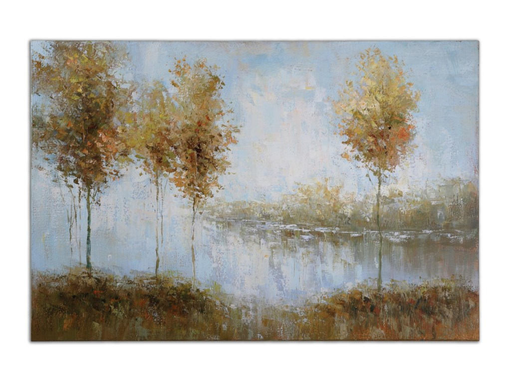 Uttermost ArtView Of The Lake Art