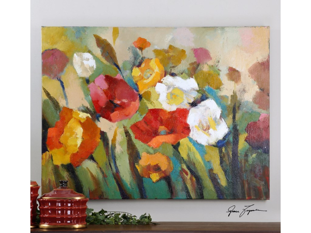 Uttermost ArtSpring Has Sprung Floral Art