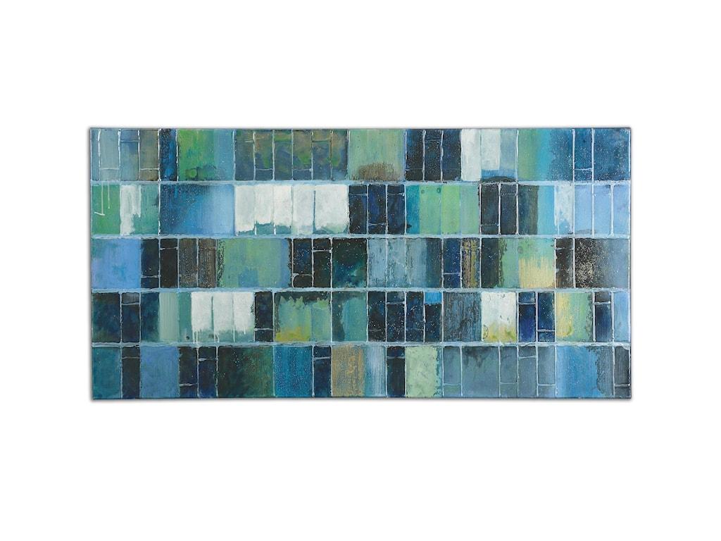 Uttermost ArtGlass Tiles Modern Art