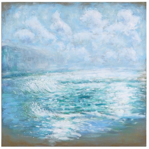 Uttermost Art Morning Swells Canvas Art