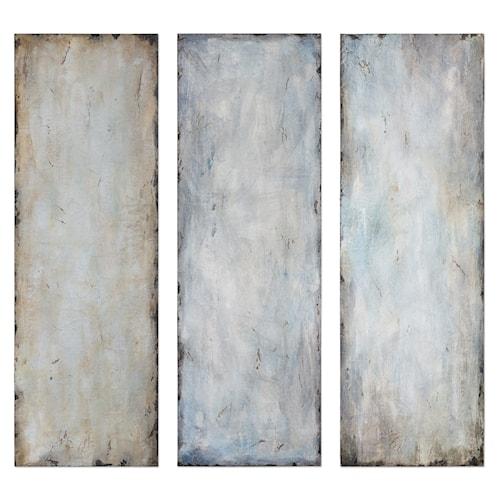 Uttermost art textured trio abstract art s 3
