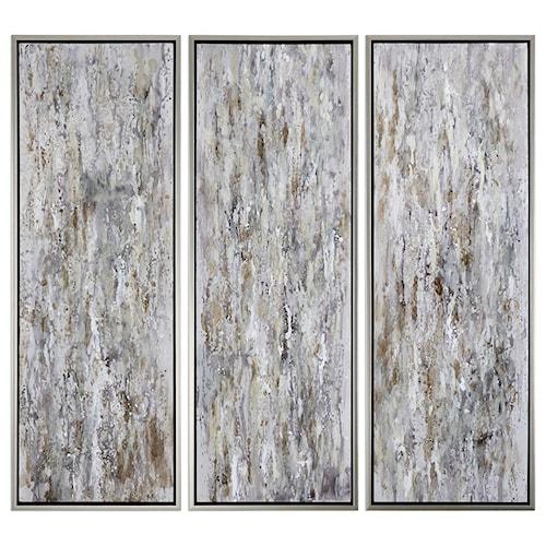 Uttermost Art Shades Of Bark (Set of 3)