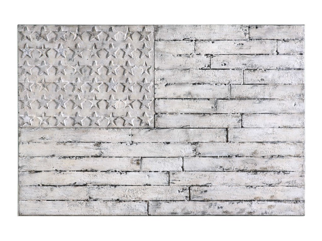 Uttermost Alternative Wall DecorBlanco American Wall Art