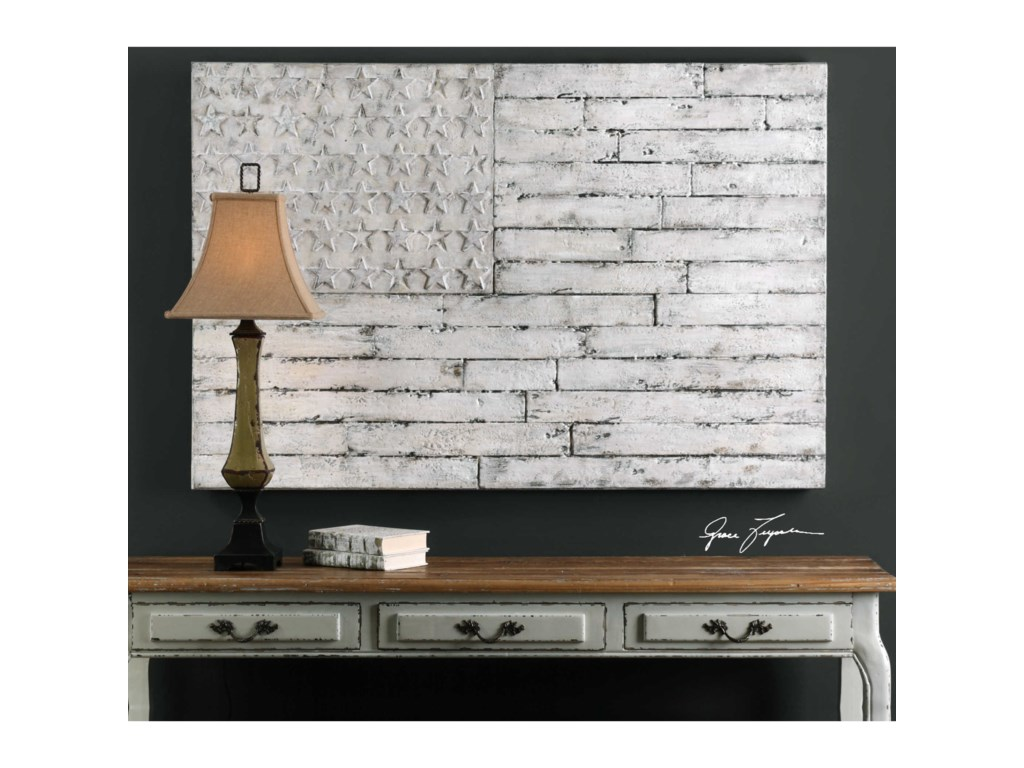 Uttermost ArtBlanco American Wall Art