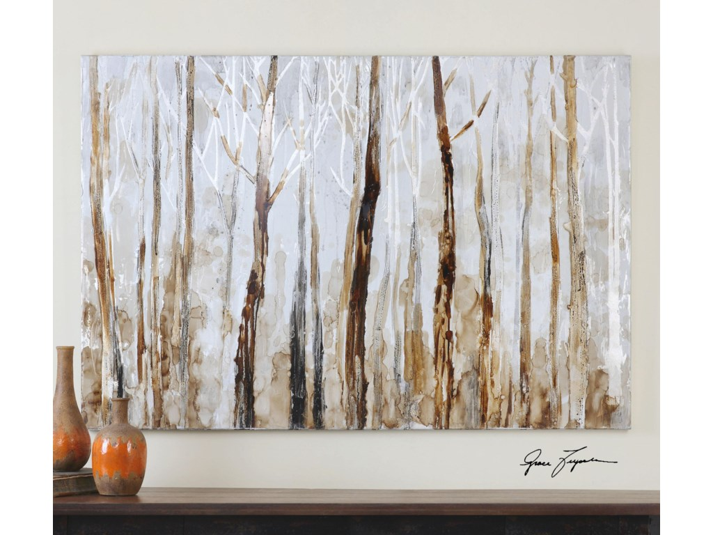 Uttermost ArtMystic Forest Hand Painted Art