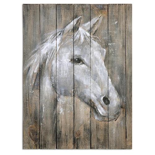 Uttermost Art Dreamhorse Hand Painted Art