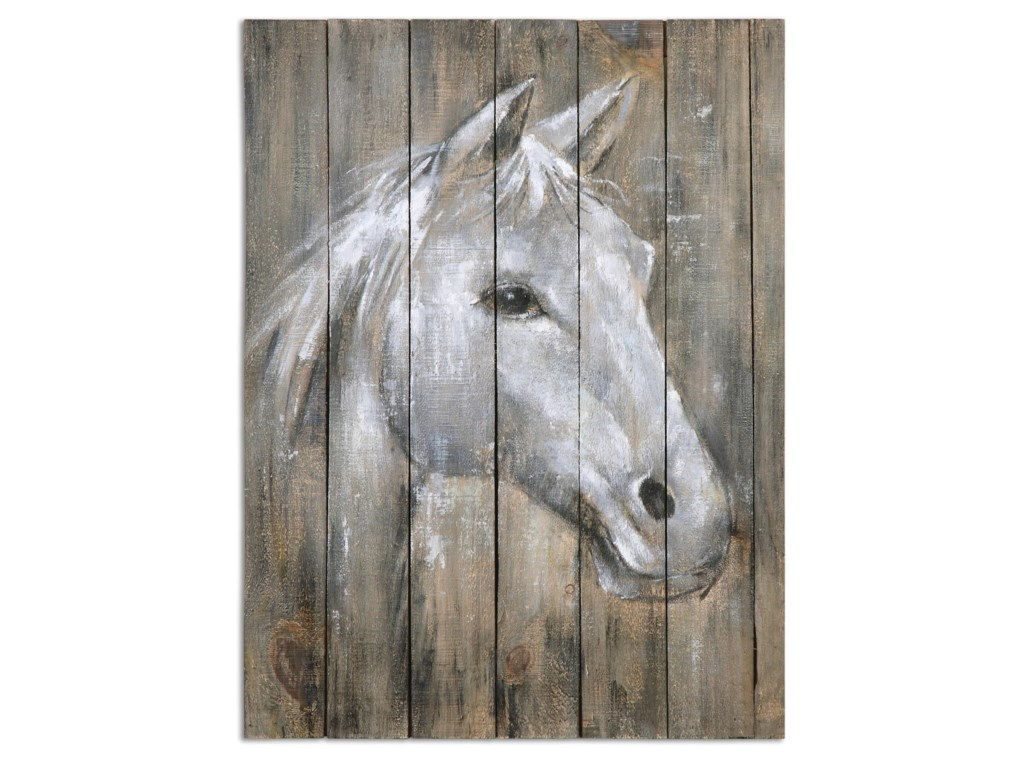 Uttermost ArtDreamhorse Hand Painted Art