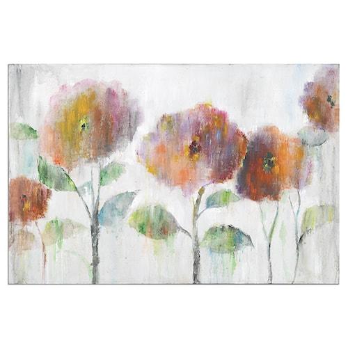 Uttermost Art Flowers Of The Rainbow Canvas Art