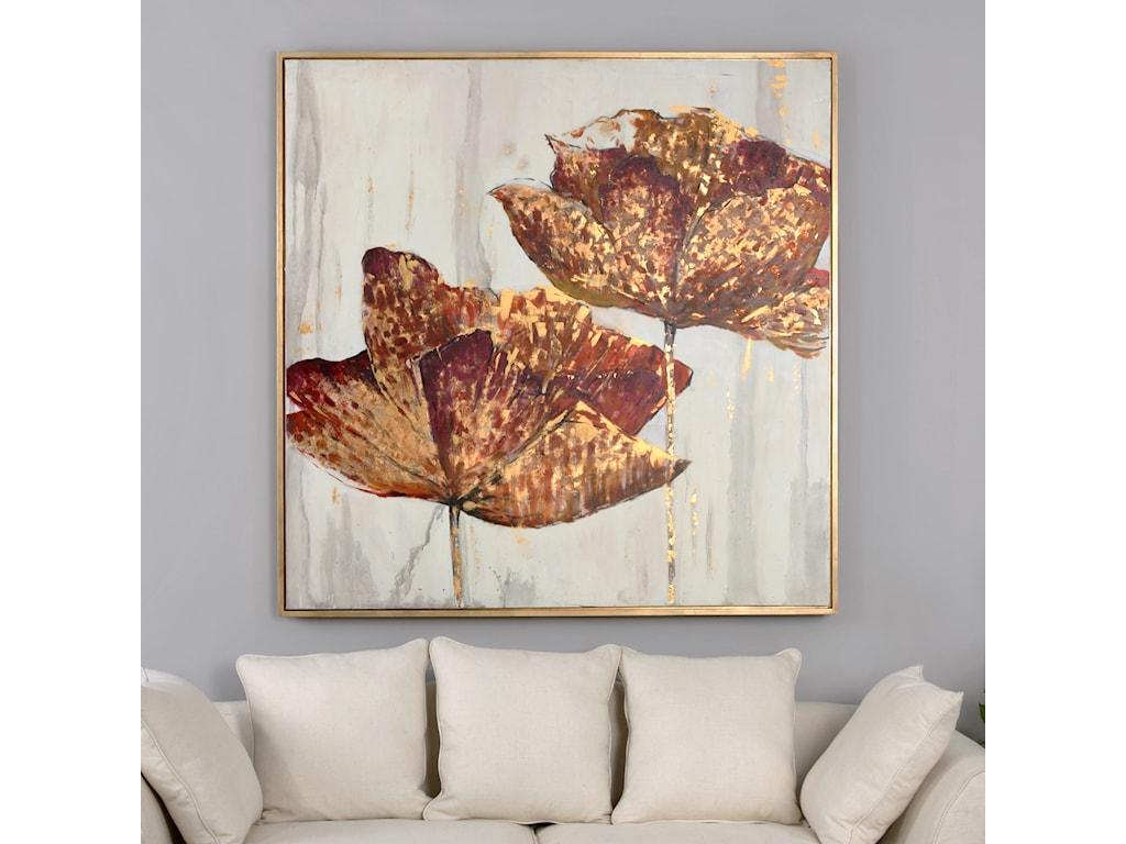 Uttermost ArtGolden Accents Floral Art