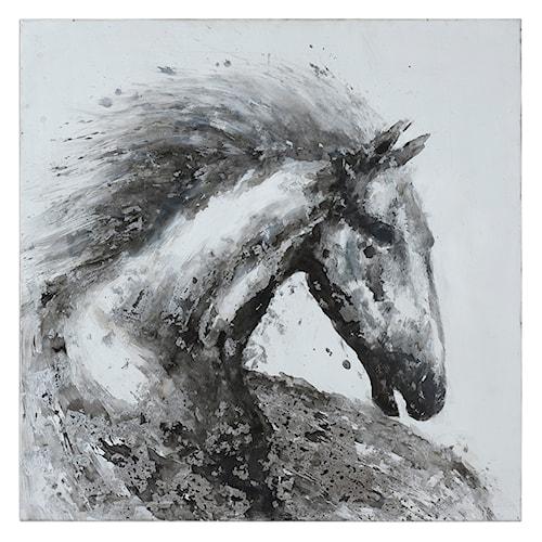 Uttermost Art Proud Friend Horse Art