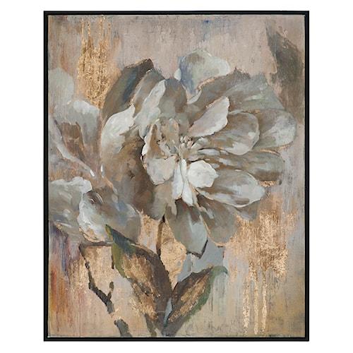 Uttermost Art Dazzling Floral Art