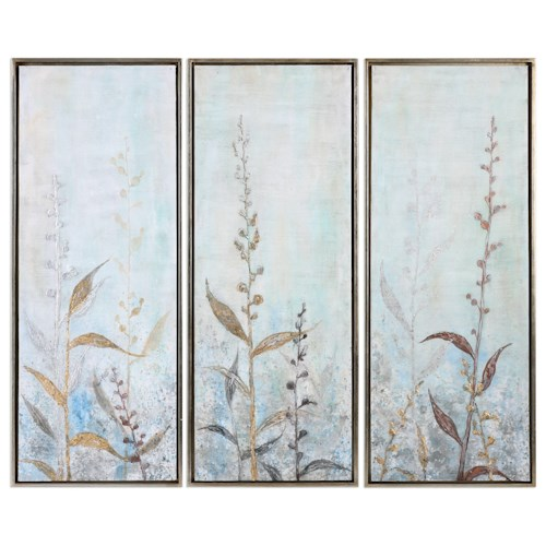 Uttermost Art Shining Florals (Set of 3)