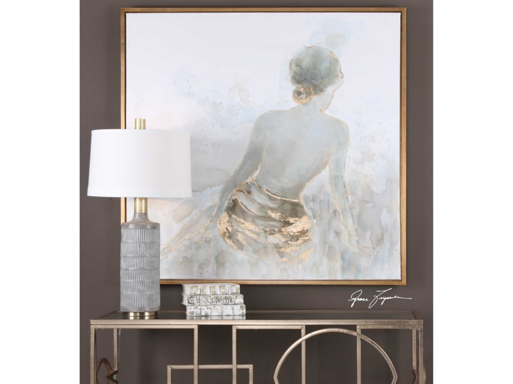 Uttermost ArtGold Highlights Feminine Art