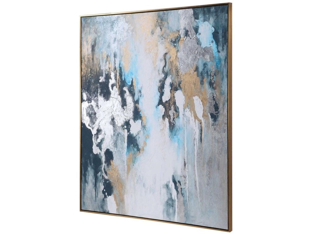Uttermost ArtStormy Seas Hand Painted Canvas