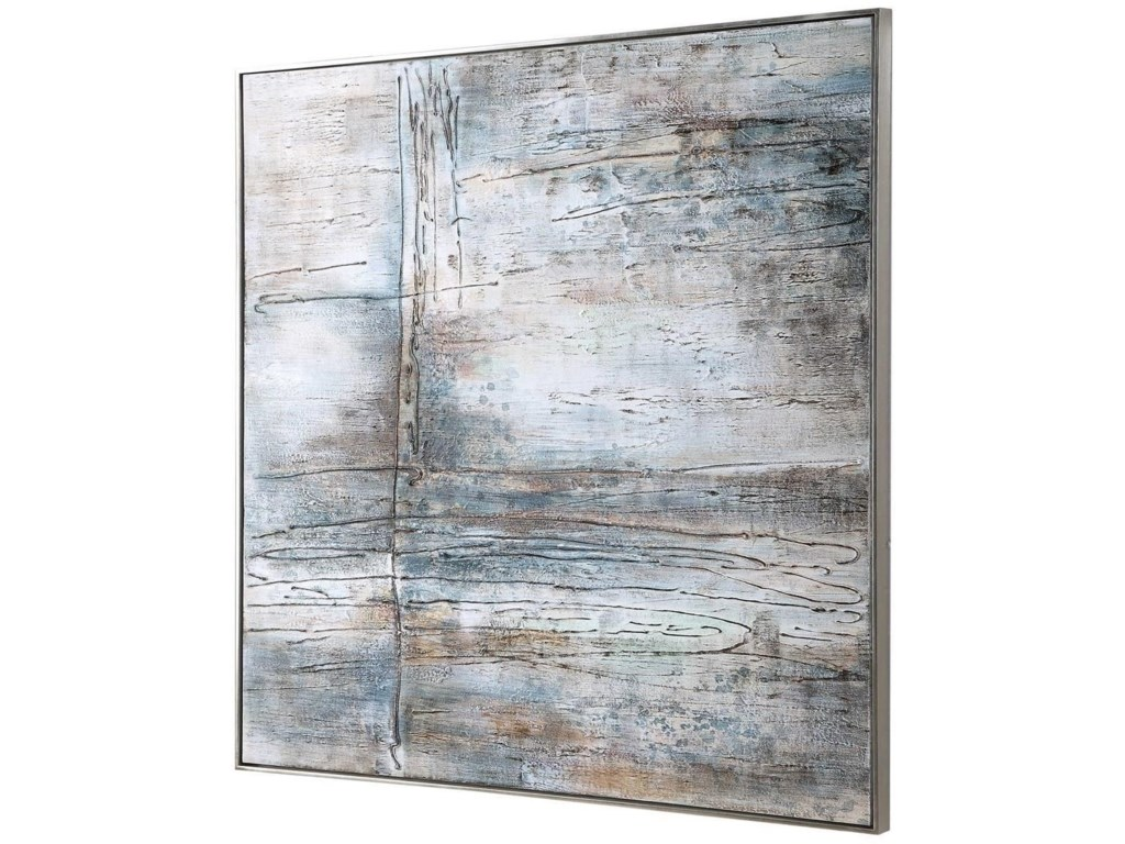 Uttermost ArtOpen Seas Hand Painted Canvas