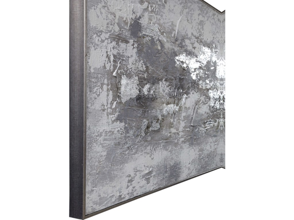 Uttermost ArtWeathered Stone Hand Painted Canvas