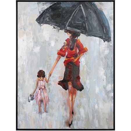 Splashing Hand Painted Art