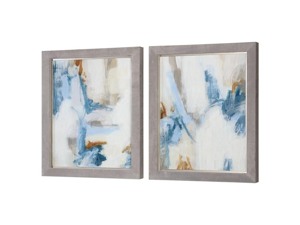 Uttermost ArtIntermittent Abstract Modern Art Set/2