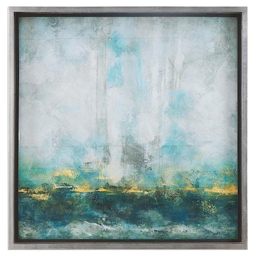Uttermost Art Aqua Blue Abstract Art