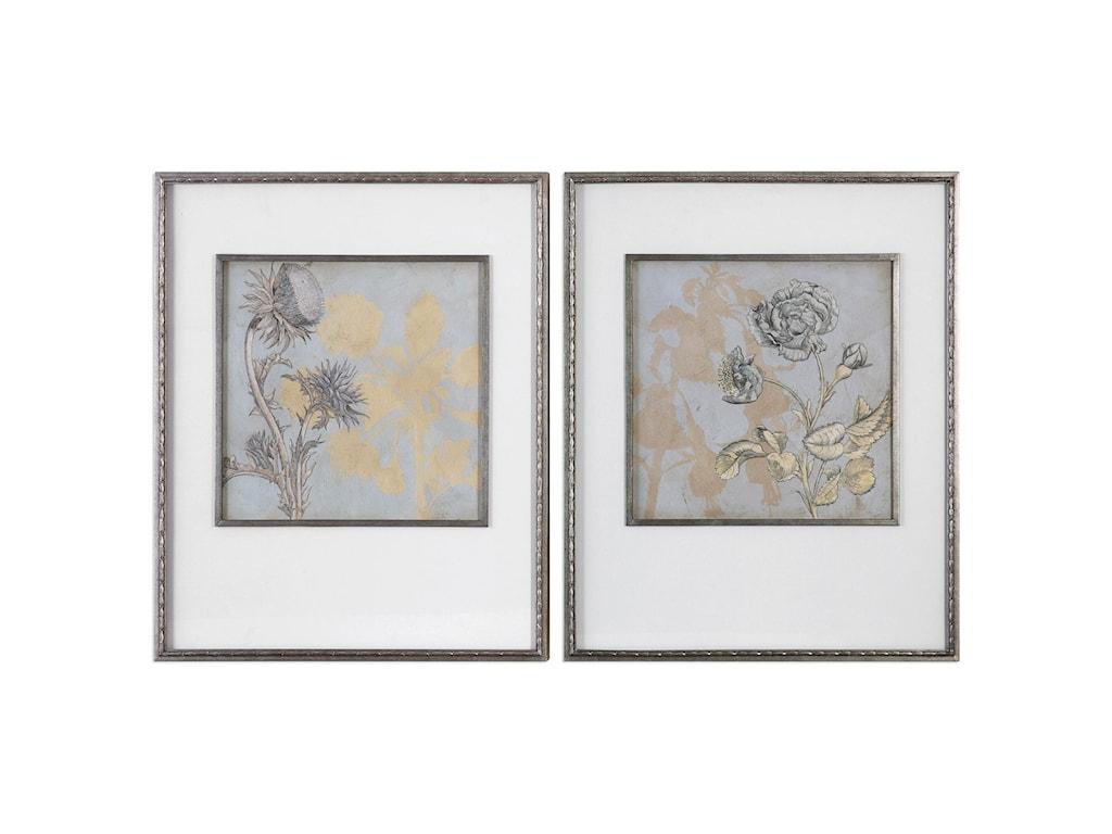Uttermost ArtShadow Florals (Set of 2)