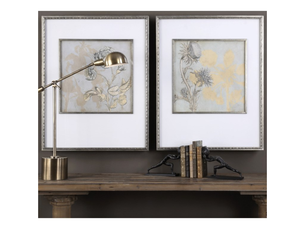 Uttermost ArtShadow Florals (Set of 2)