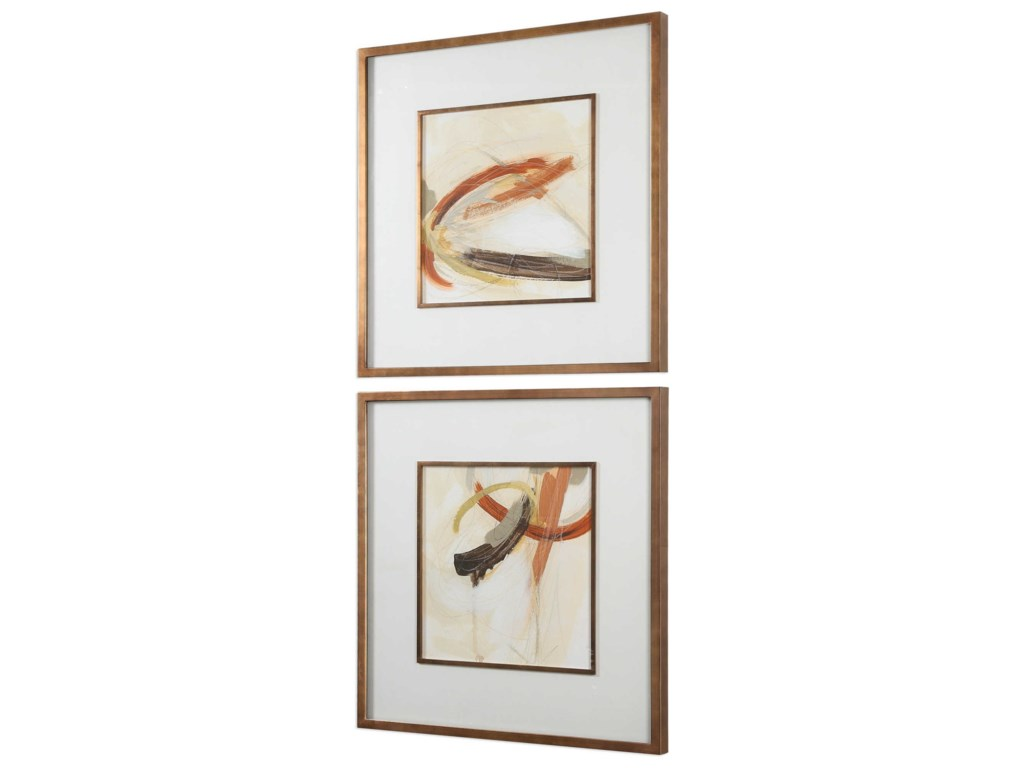 Uttermost ArtUpstage Abstract Art Set of 2