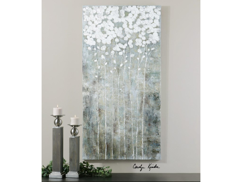 Uttermost ArtCotton Florals Wall Art