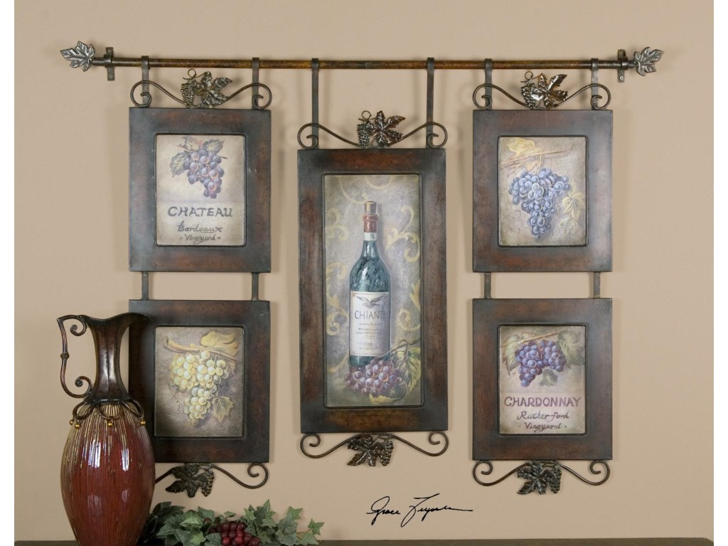Uttermost ArtHanging Wine