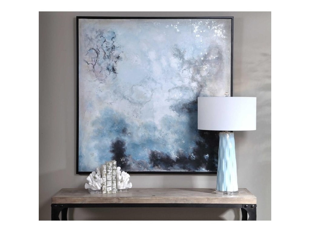 Uttermost ArtSeaside Storm Hand Painted Canvas