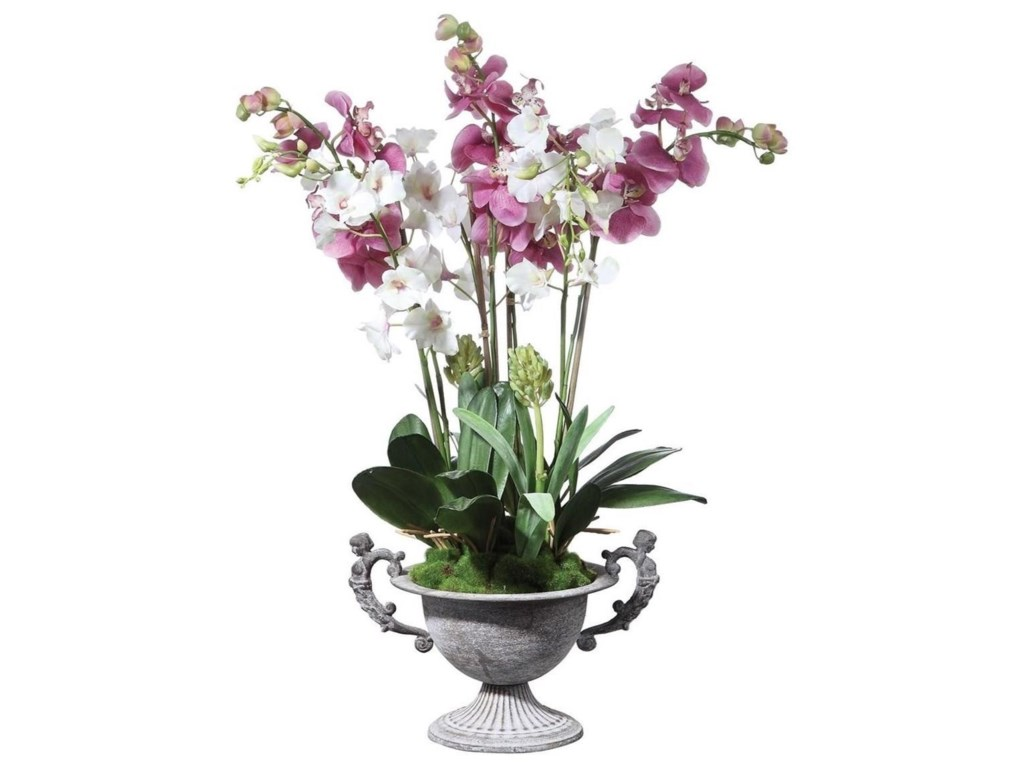 Uttermost BotanicalsNydia Potted Orchid