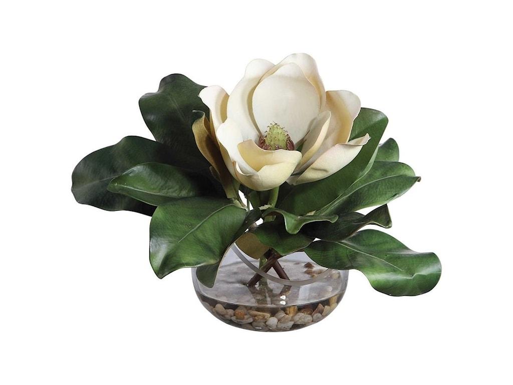 Uttermost BotanicalsCelia Silk Magnolia Accent