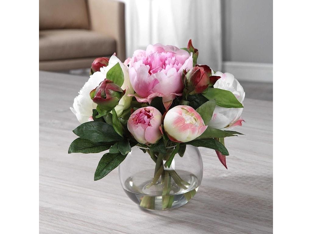 Uttermost BotanicalsBlaire Peony Bouquet