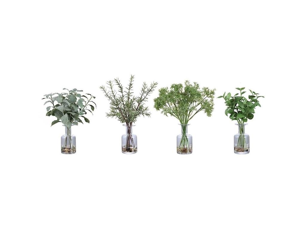 Uttermost BotanicalsCeci Kitchen Herbs, Set/4