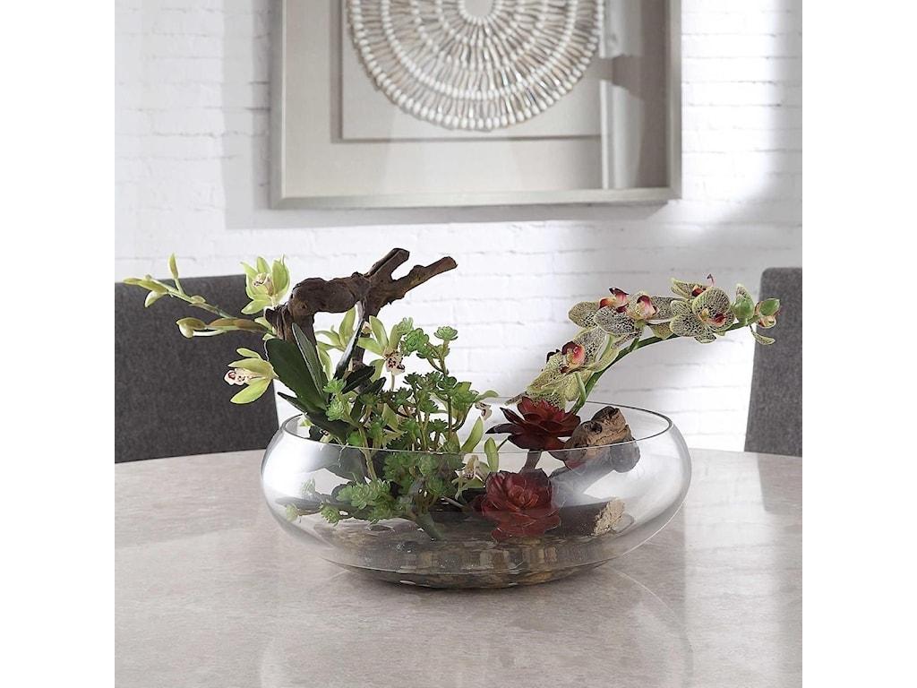 Uttermost BotanicalsHala Silk Centerpiece