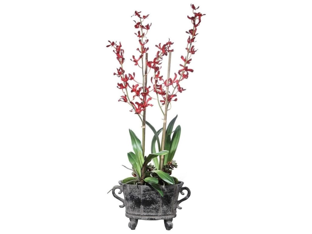 Uttermost BotanicalsReza Potted Orchid