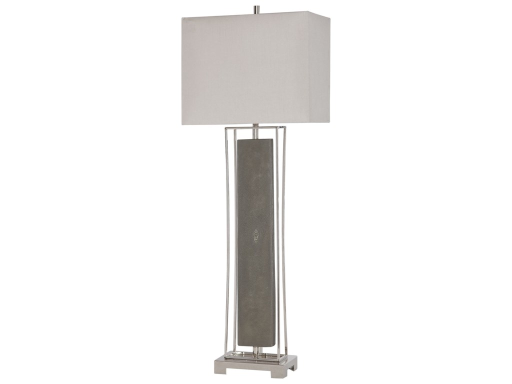 Uttermost Buffet LampsSakana Gray Buffet Lamp