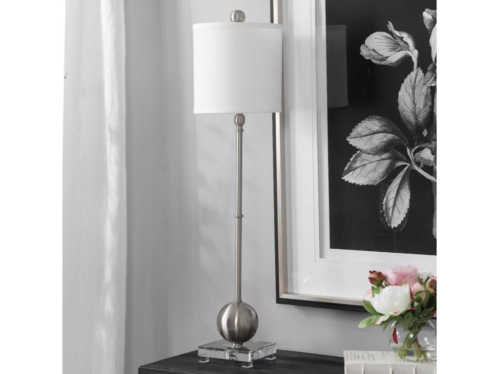 Uttermost Buffet LampsLaton Silver Buffet Lamp
