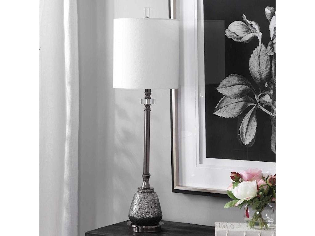 Uttermost Buffet LampsRana Silver Buffet Lamp