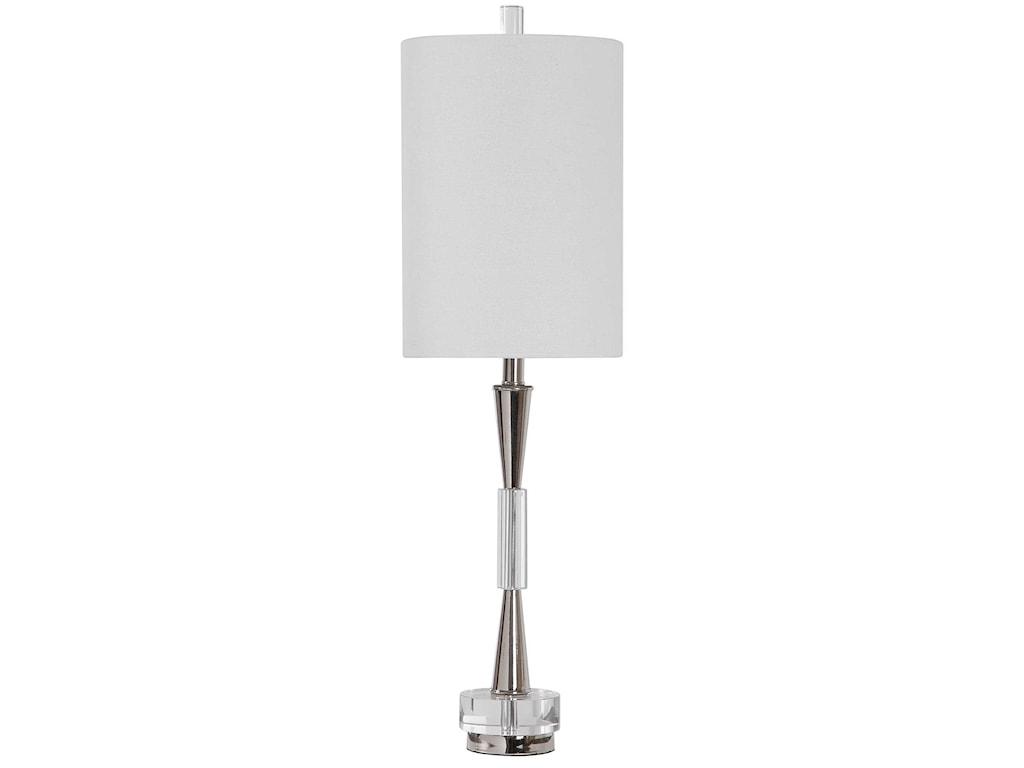 Uttermost Buffet LampsAzaria Polished Nickel Buffet Lamp
