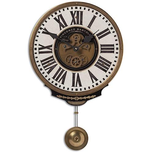 Uttermost Clocks Vincenzo Bartolini Cream Clock
