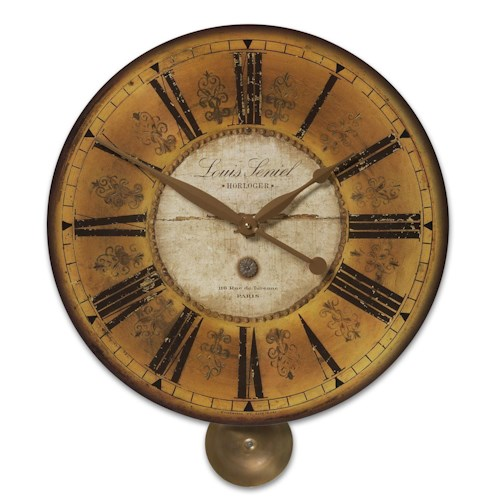 Uttermost Clocks Louis Leniel Clock