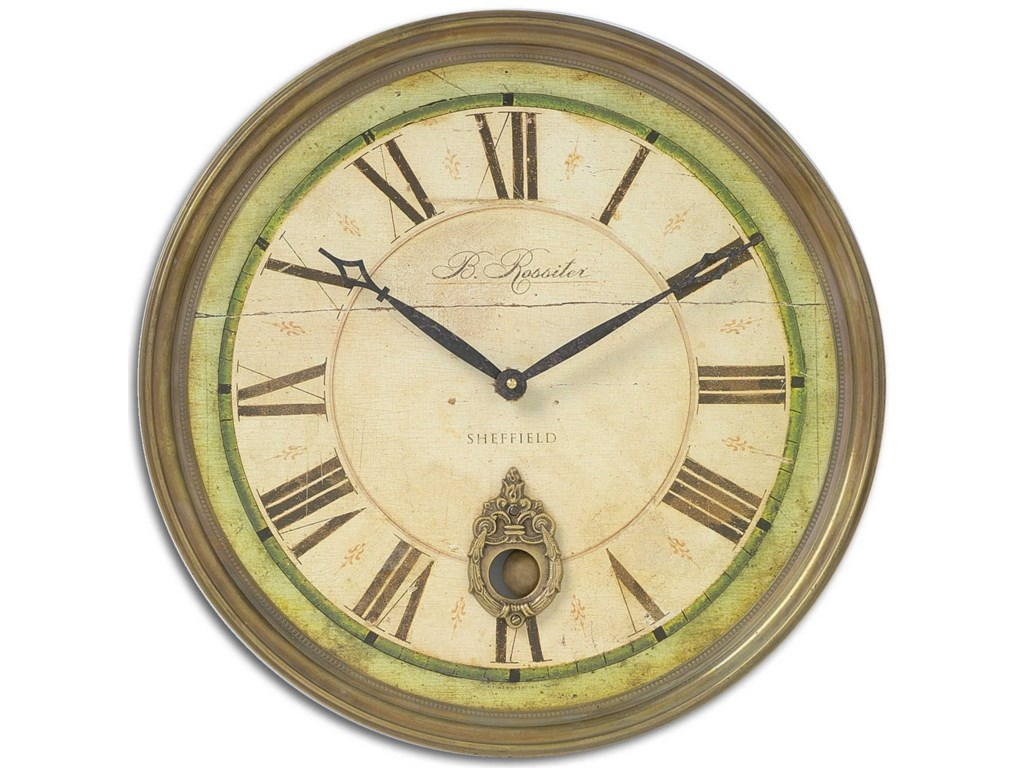 Uttermost Clocks 06036 Regency B. Rossiter Wall Clock | Dunk ...