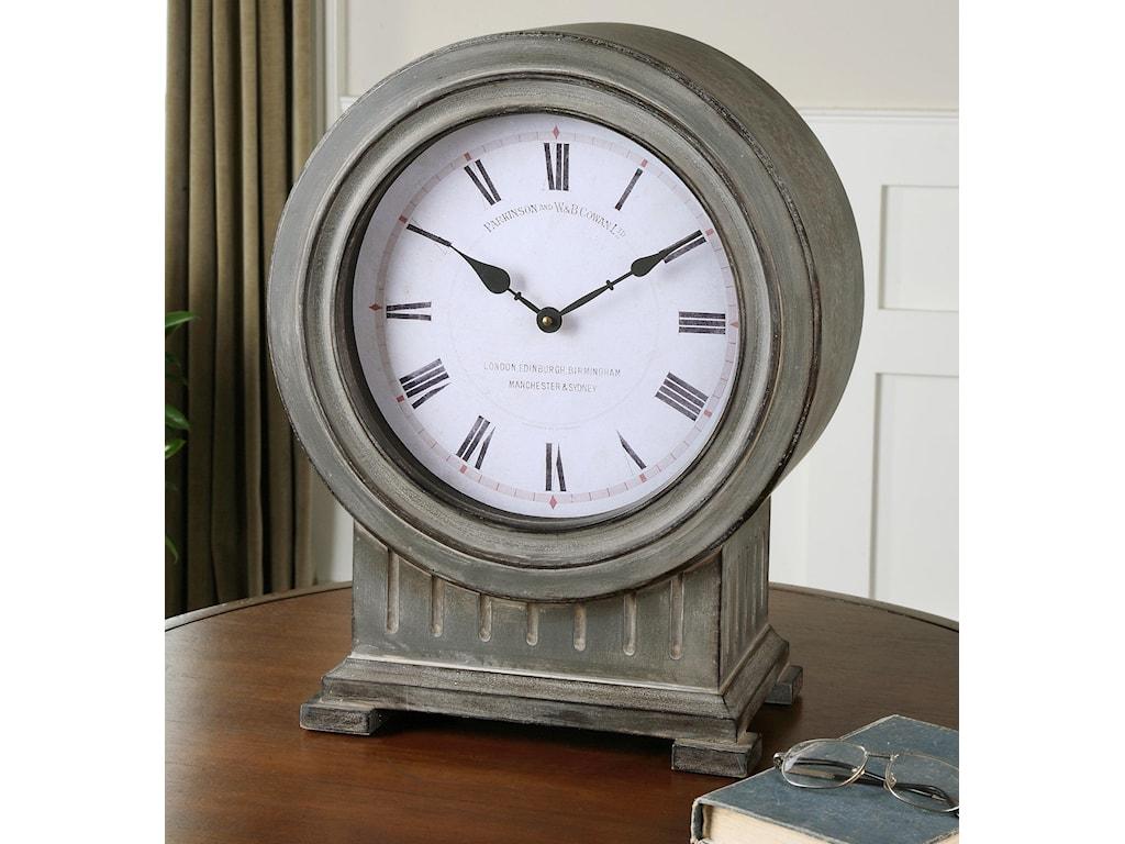 Uttermost ClocksChouteau Mantel Clock
