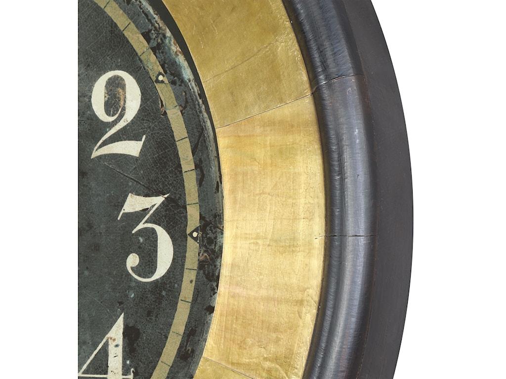 Uttermost ClocksUttermost Lannaster Black & Gold Wall Clock