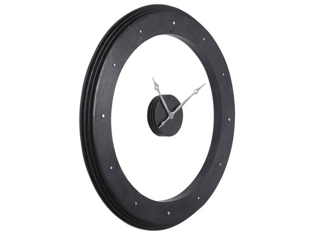 Uttermost ClocksRamon Wooden Wall Clock
