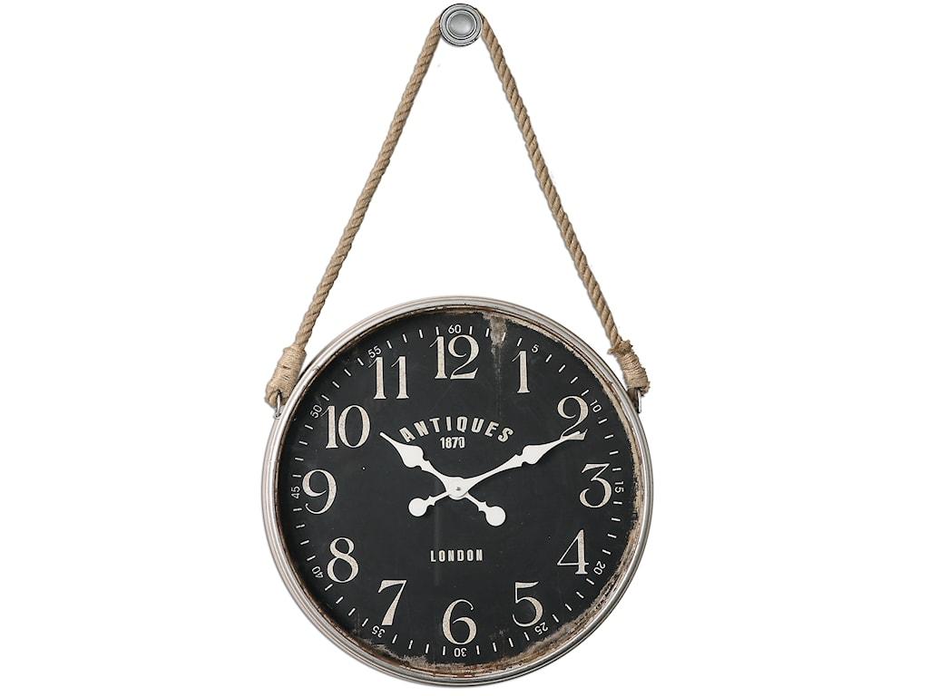 Uttermost ClocksBartram Wall Clock